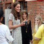 Queen Elizabeth II transfers a feather to Kate Middleton after 67 years