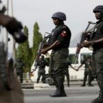 Nigerian policeman shot young man dead