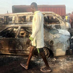 Taker Explosion Gut Over 30 Vehicles on Lagos-Ibadan Expressway
