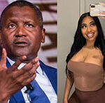 Dangote Sues ex-girlfriend $30,000 For Trying to Extort $5m From Him