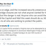 50 US states on alert for armed protests ahead of Biden's inauguration