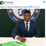 Chelsea FC Signed Prince Adegoke