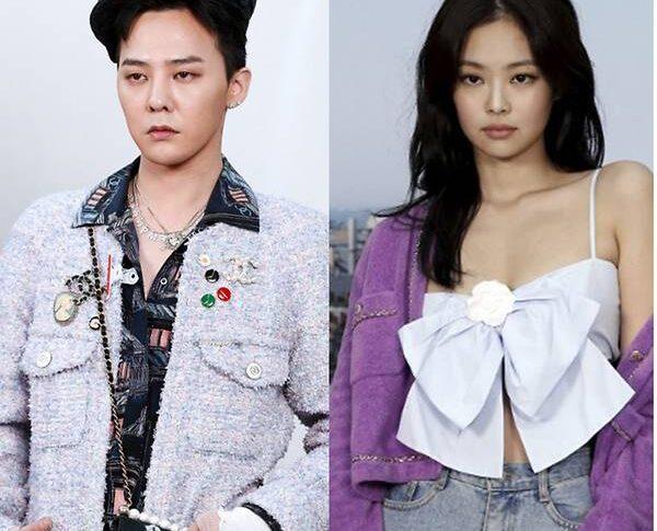 G Dragon And Blackpink S Jennie