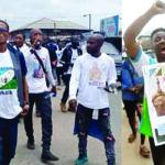 Oduduwa Republic Advocates Rally Storms Alake of Egbaland Palace