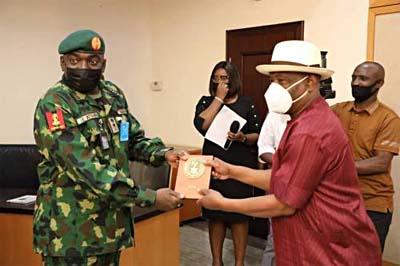 Army Chief Attahiru N Wike