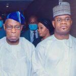 Obasanjo on the Match again… visits Gov Bello