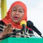 First Female President in Tanzanian, Suluhu