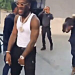 VIDEO: Burna Boy Dances 'Gbese' with Ghanaian Police
