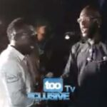 (Videos) Moment Burna Boy, Duncan Mighty hugged passionately at the homecoming concert