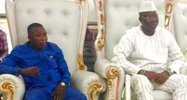 Gani Adams And Sunday Igboho