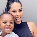 Jada Pollock frown at fan who referred to her as 'Wizkid's baby mama'