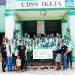 Lagos Elites donates N891K to secondary school  to celebrate Erica