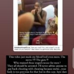 (Video) Alex Unusual reacts to viral video of a girl being slapped by her boyfriend for cheating
