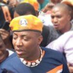 Female Police Officer Shoot Omoyele Sowore In Abuja