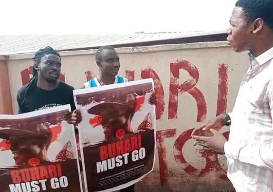 Buhari Must Go Guys Jailed