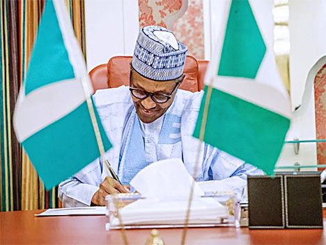 Buhari Sign