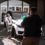 Davido's brother, Adewale Adeleke gifted wife, Ekanem car gift on her birthday