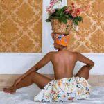 Janemena Tweek With Flower Verse Glued to Head