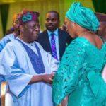 [Video] Tinubu Goofs Embarrasses Osinbajo's Wife at Aisha Buhari's Book Launch