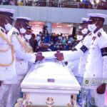 Pastor Oyedepo and others grace the burial of Dare Adeboye