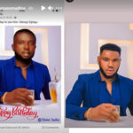 """Actor, Somadina in shock after losing his """"birthday body"""" to a total stranger"""
