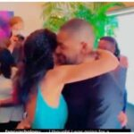(Video) Actor Alex Ekubo engaged his girlfriend, Fancy Acholonu, romantically