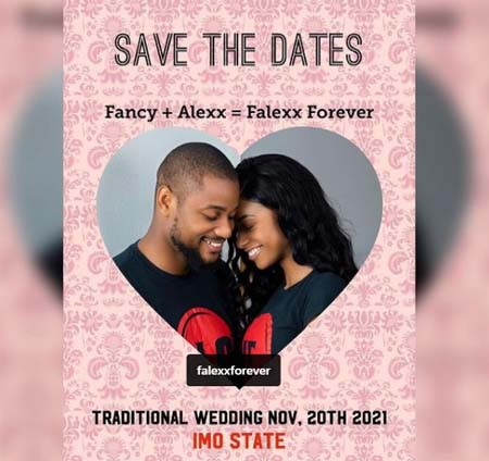 Alex Wedding Card