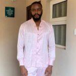 BBNaija star, Dasilva angrily left church service after his pastor asked them to pray