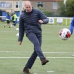 Prince William has kickabout on Scotland tour after slamming BBC over handling of Diana interview