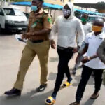 Watch as Baba Ijesha appreciates his lawyers after securing his bail (video)