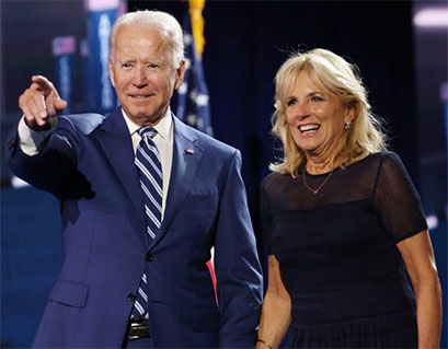 Biden And Wife