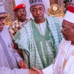 Buhari, Service Chiefs Arrive Maiduguri...to commission 10,000 Housing Units, Others