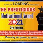 7th Edition of Prestigious Motivational Award Loading... 2021