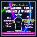 Prestigious Motivational Awards... Stage two