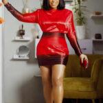 Rita Dominic slays in red...celebrities reacts