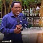 There is no love in Christendom… prophet reacts to low turnout at T.B. Joshua's burial