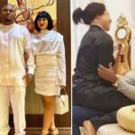 Tonto Dikeh's ex-hubby celebrates wife as the latter flaunts new lover on internet