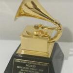 Singer, Wizkid Receives His Grammy Award Plaque