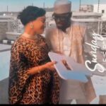 Reactions as Tonto Dikeh's baby bump gets exposed in a new video...she's pregnant