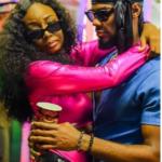 BBNaija reunion: Drama as Tolani Baj reveals why she gas lighted Prince, throws pillow at Vee (Video)