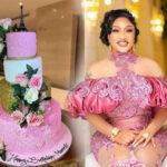 Tonto Dikeh Celebrates 36th Birthday with Gigantic Cake