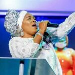 Tope Alabi dragged to filth for condemning 'Oniduro mi' song