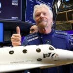 British billionaire Branson set to break record in rocket-powered test space tour