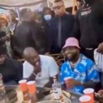 Davido, D'banj, others storm Obi Cubana's mother's burial (Video)