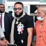 Watch E-Money arrival at Obi Cubana mother's burial