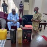 James Manager Kneels Before Ibori, Solicits for Governorship Seat