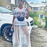 (Video) Nancy Isime acquisition of new Benz sparks reactions