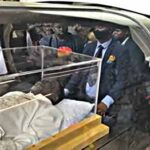 (Videos) The moment Prophet TB Joshua's corpse arrive at the Synagogue
