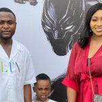 Ubi Franklin, ex-wife Lilian Esoro celebrates their son's 5th birthday