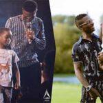 Wizkid's children celebrates him on 31st birthday